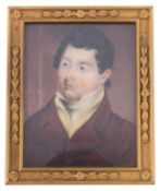 Early 19th century Brit. School portrait miniature