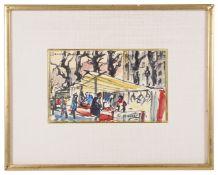 Jean Govaerts (Belgian, 1898-1985) 'Marche Convention Paris'