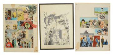 Arthur Ranson (British, b.1939) original cartoons Look In Magazine (3)