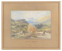 Anthony V Copley-Fielding P.O.W.S.(British1778-1885) watercolours (2)