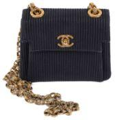 A small black Chanel bag