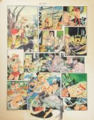 John M. Burns (British b.1938) 'Mad Maxine', original cartoon
