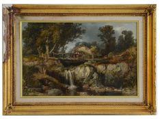 19th century Continental school, oil on canvas