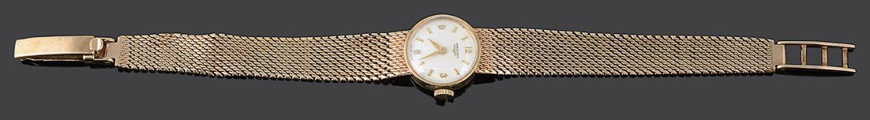 A 1960s 9ct gold ladies Longines wristwatch