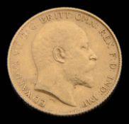 An Edward VII half sovereign, 1907