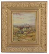 Henry Earp Snr. (British, 1831-1914) 'York Minster', oil on canvas