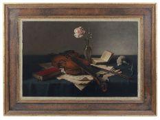 Johannes Hendrik Everson (Dutch, 1906-1995) Still life, oil on canvas