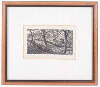 Gwen Raveret (British, 1885-1957) woodcut engravings (2)