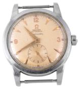 A Gentleman's Omega Seamaster automatic 'bumper' stainless steel wristwatch