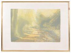 Michael Carlo (Modern British, b.1945) screenprints, mounted,framed (3)