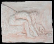 Sir Eduardo Paolozzi (Scot.1924-2008) 'After Blake' small scale plaster cast relief
