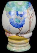 A Clarice Cliff Bizarre Rhodanthe pattern Viscaria colourway vase