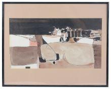 Julio Micheli (1937-2014, Costa Rica) 'Abstract landscape'