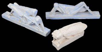 Sir Eduardo Paolozzi (Scot. 1924-2008) Three plaster cast sculptures, unsigned (3)