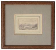 John Glover O.W.S. (Brtish, 1767-1849) 'London from Greenwich Park'
