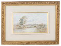 Frederick Edward Joseph Goff (British, 1855-1931) 'Eton College', watercolour