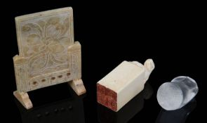 A Chinese Qing dynasty ivory seal (3)