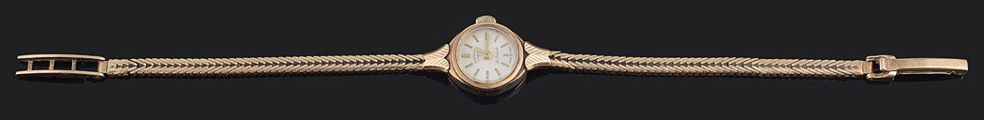 A 1960s ladies 9ct gold Rotary wristwatch