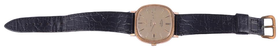 A gentleman's 1970s 9ct gold Rotary wristwatch