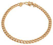 A Continental .918 high carat gold bracelet