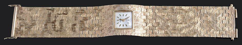 A ladies 9ct gold Excalibur wristwatch