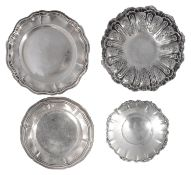 Four early 20th century pieces of Italian .800 silver