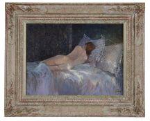Clive Madgwick R.B.A. (1934-2005) 'Torse de femme', oil on canvas