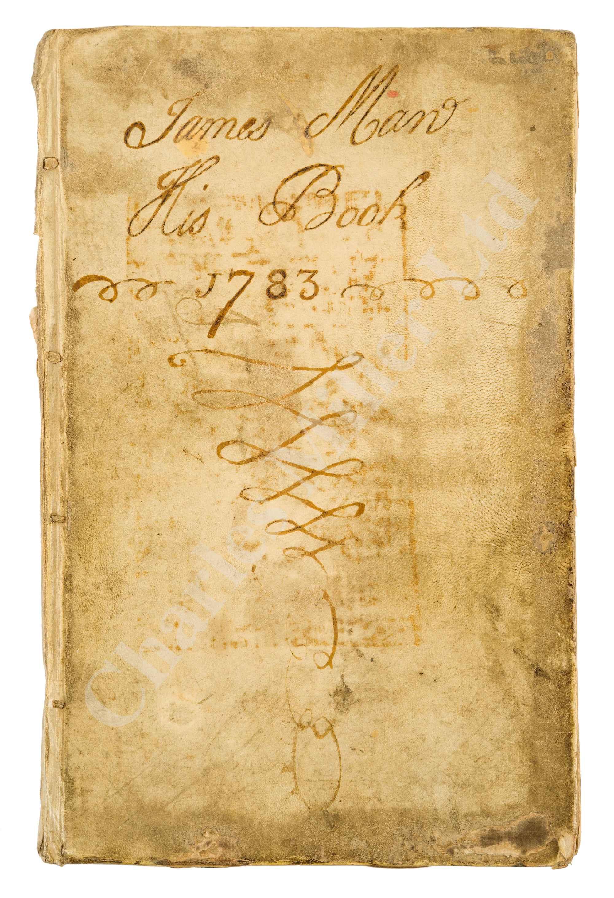 A MERCHANT SHIPBUILDER'S MANUSCRIPT DESIGN BOOK, CIRCA 1785