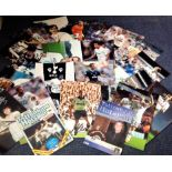 Lot 11 - Football Tottenham Hotspur collection includes 20 signed colour and b/w photos and two matchday