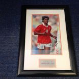 Lot 44 - Football Frank Rijkaard 20x14 approx framed and mounted signed colour photo pictured playing for