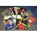 Lot 13 - Football Premier League collection ten 12x8 signed colour photos from players past and present who