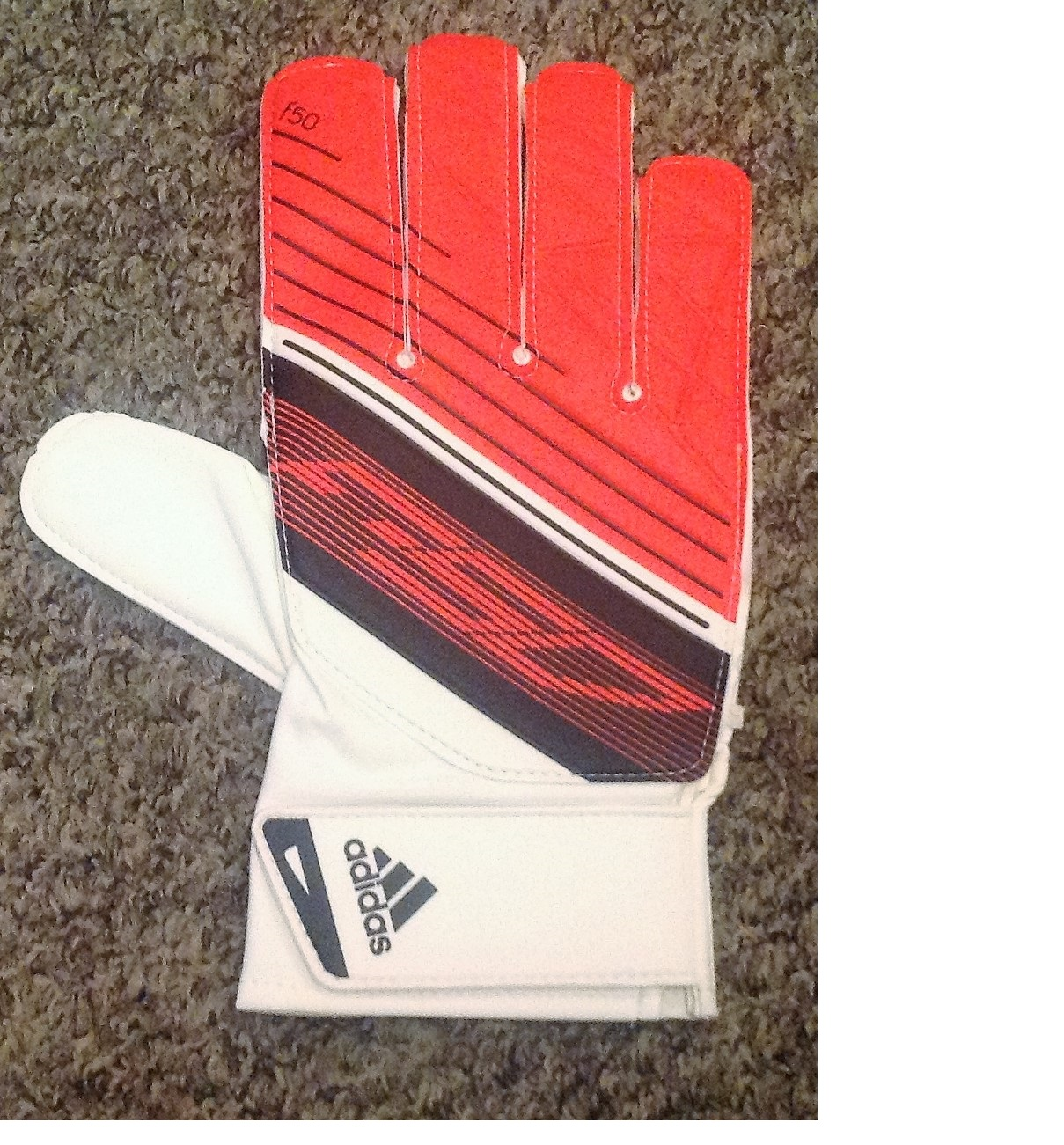 Lot 28 - Football Joe Hart signed Adidas goalkeeper glove. Charles Joseph John Hart, born 19 April 1987 is an