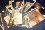 Lot 21 - Assorted TV/Film collection. 12 items. Assorted photos, letters and signature pieces. Includes