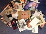 Lot 20 - TV signed collection. 25+ items. Variety of photos and letters. Some of signatures included are