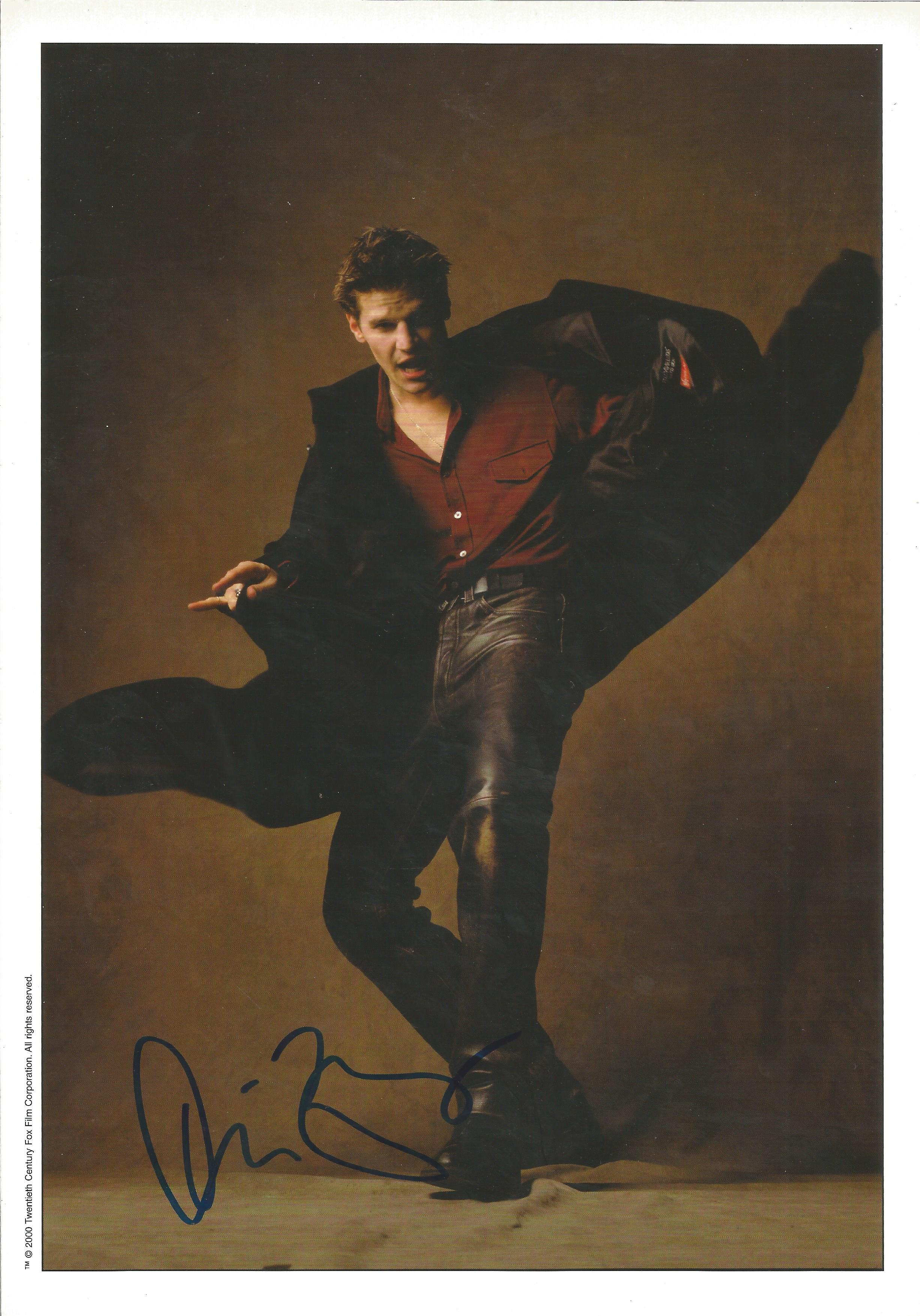 David Boreanaz Actor Angel Tv Show Autographed Signed Index Card Movies Cards & Papers