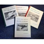 Lot 21 - Aviation Book collection four Aircraft Crash Logs compiled by Nicholas Roberts planes featured are