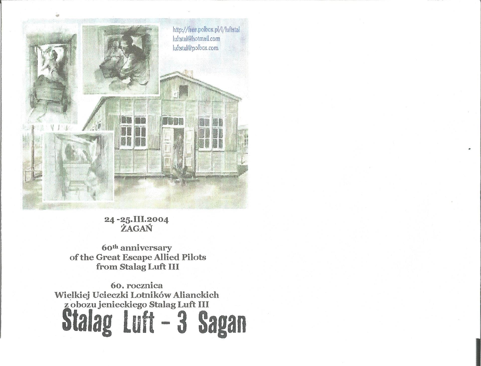 Lot 56 - Colditz and Stalag Luft III. Four unusual and scarce unsigned covers. Good condition Est.