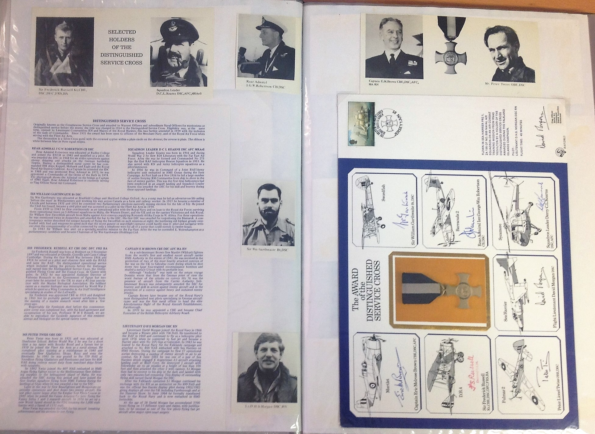 Lot 34 - Nineteen large DM Medal Special Signed Covers. The unbelievably rare set of 19 special signed