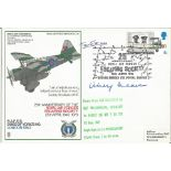 Lot 68 - Airey Neave WW2 Colditz escaper and Tante So Resistance VIP signed RAF Duke of Yorks Lysander cover.