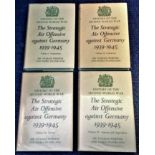 Lot 5 - World War Two Book Collection 4 Hardback books History of the Second World War Volume 1 to 4 by