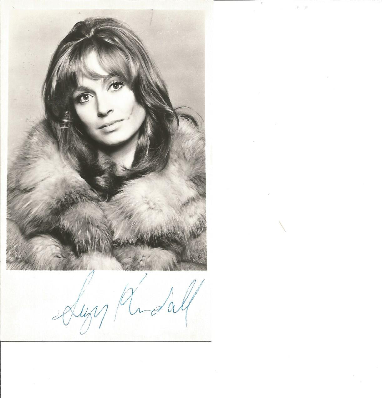 Lot 71 - Suzy Kendall signed 6x4 b/w photo. Good Condition. All signed pieces come with a Certificate of