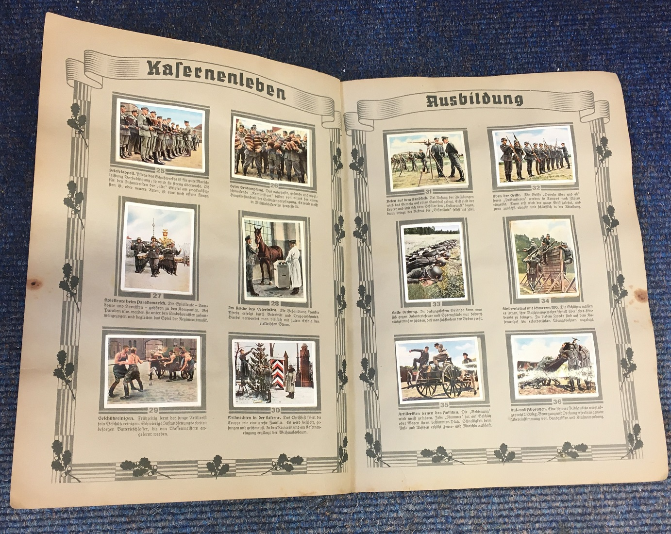 Lot 51 - WW2 German KIA Luftwaffe collection. Untouched grouping from the estate of Luftwaffe officer