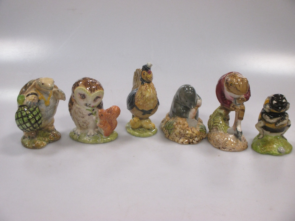 Lot 35 - A large collection of Royal albert Beatrix Potter figures to include Mr Alderman Ptolemy, Jeremy