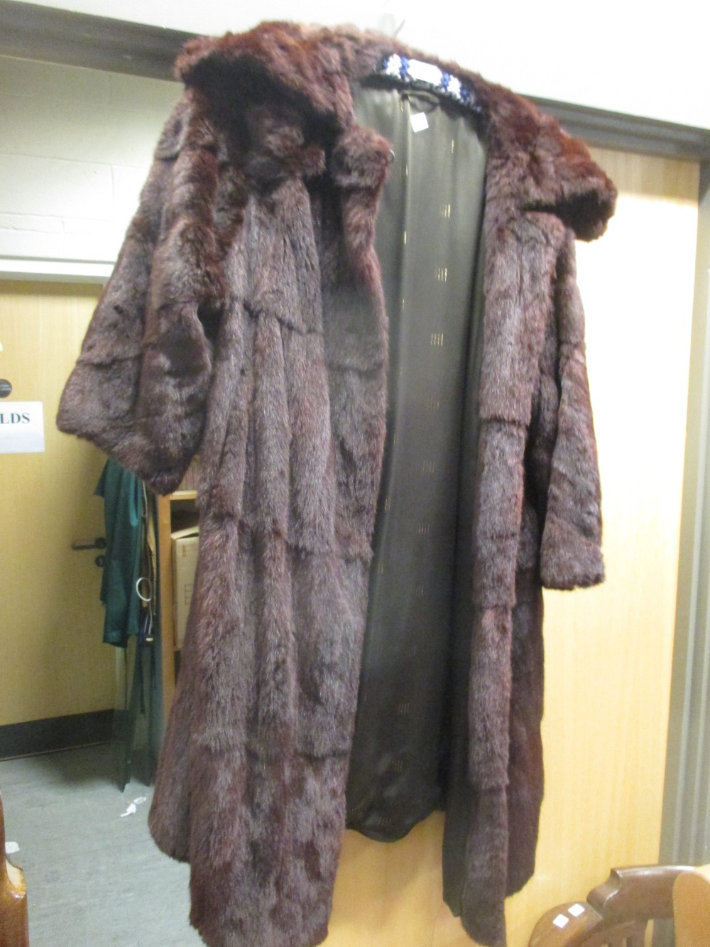 Lot 331 - A fur coat