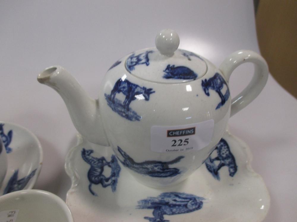 Lot 225 - An unusual Spode child's tea set