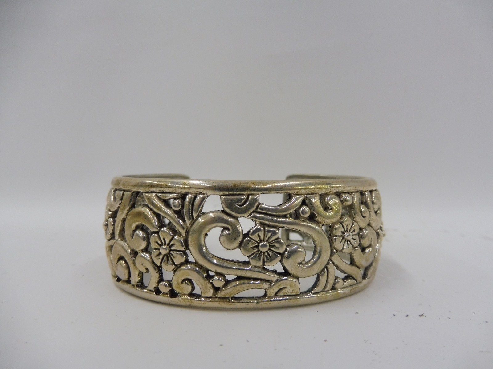 Lot 5 - A silver bracelet, hallmarked for Birmingham.