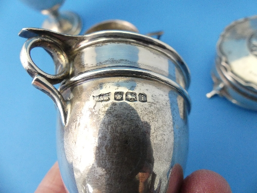 Lot 23 - A small George V silver Trophy Cup and Cover, hallmarked London 1926, 4½in (11.5cm) high, together
