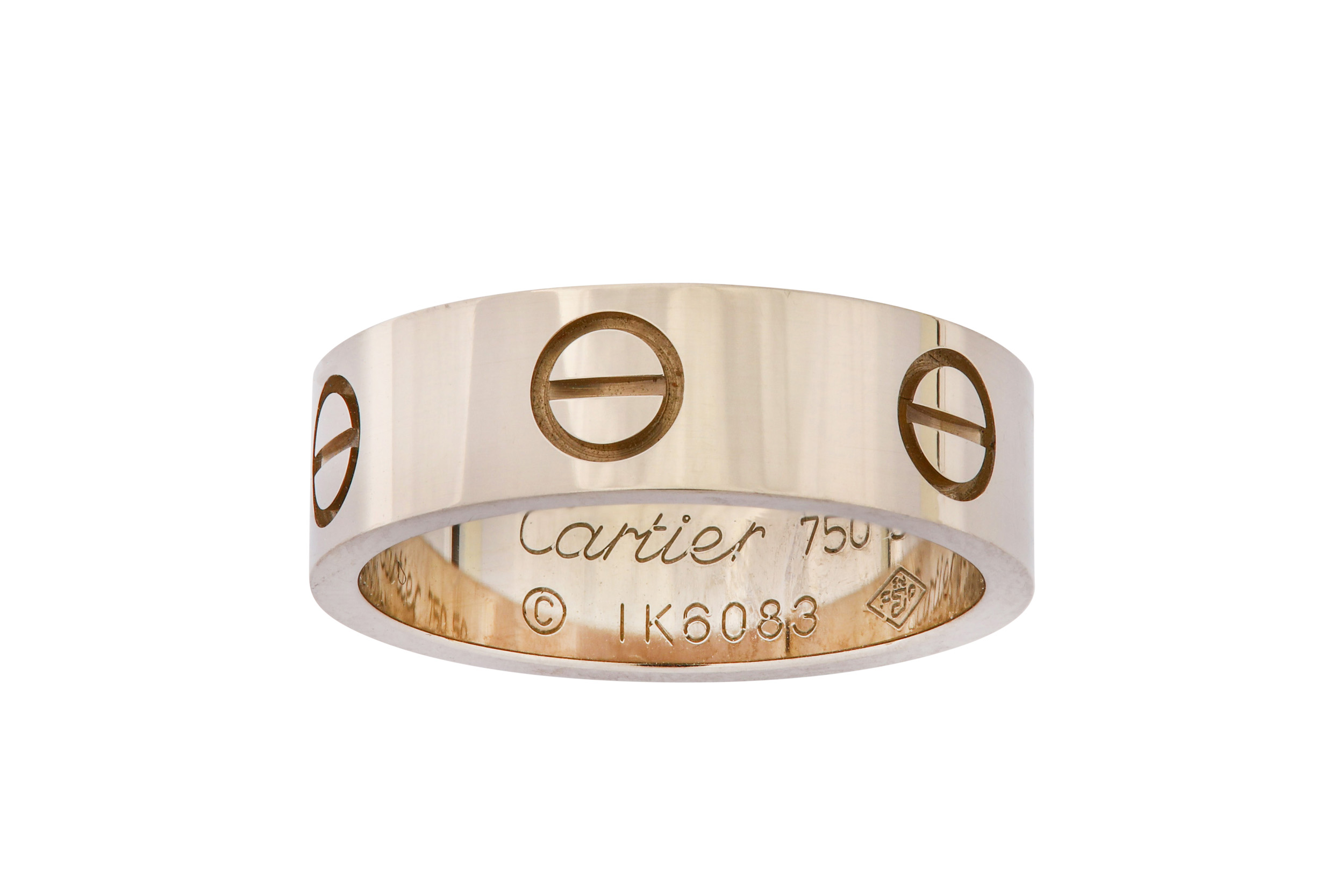 Lot 5 - A 'Love' ring, by Cartier