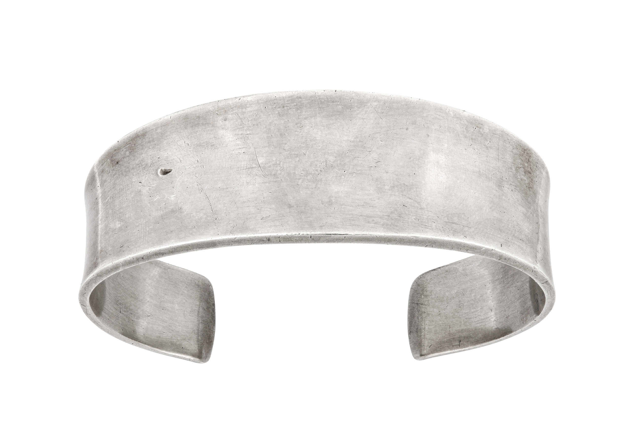 Lot 53 - A silver cuff, by Poul Hansen for Georg Jensen