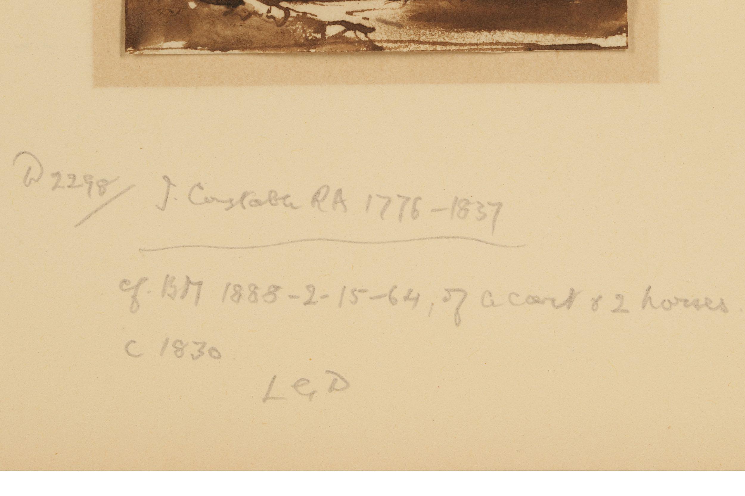 JOHN CONSTABLE RA (BRITISH 1776 -1837) - Image 3 of 7